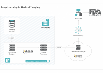 Dicom Systems De-identifies 5.3 Million Radiology Exams, Demonstrates AI On-Ramp Feature