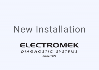 Electromek Diagnostic Systems New Installation