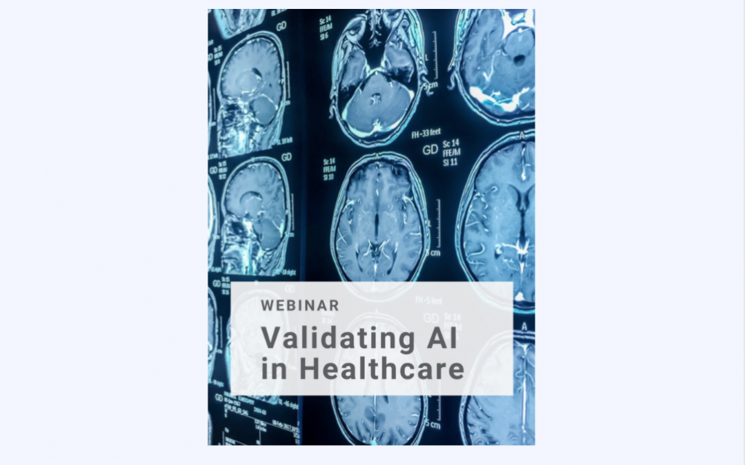 Webinar: Validating AI in Healthcare