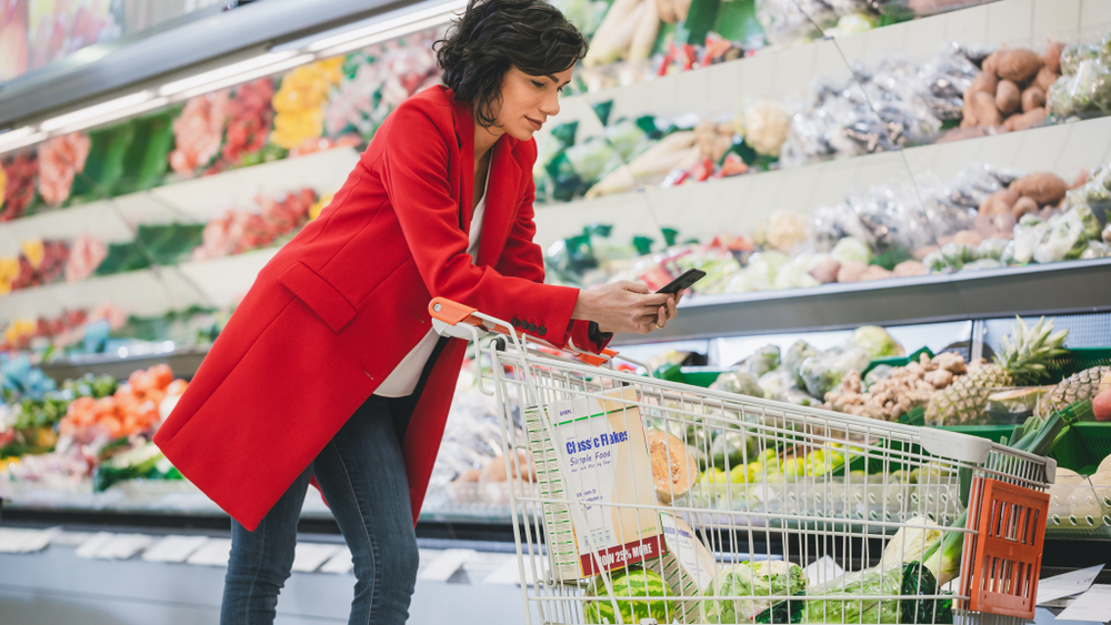 Consumers are comfortable using a digital personal assistant such as Siri to transcribe a grocery shopping list